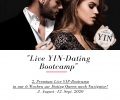2. Live Premium Dating Bootcamp - 3. Aug-12. Sep `20